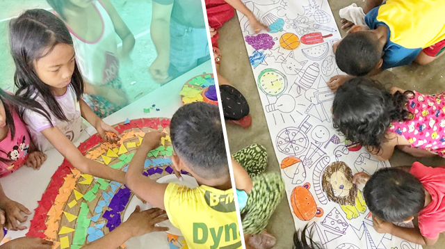 Speech Therapist Organizes Activities For Young Taal Victims: 'Kids Need Play To Heal'
