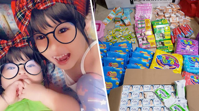 #TaalVolcanoEruption: Mga Munting Donasyon Mula Sa Mga Kahanga-Hangang Mga Bata