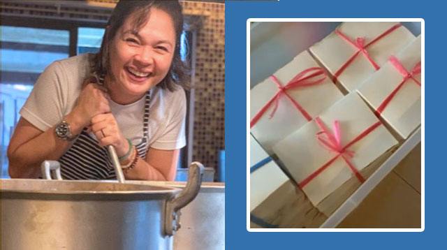 Judy Ann Santos And Family Sent Home-cooked Meals To Taal Evacuees And Volunteers