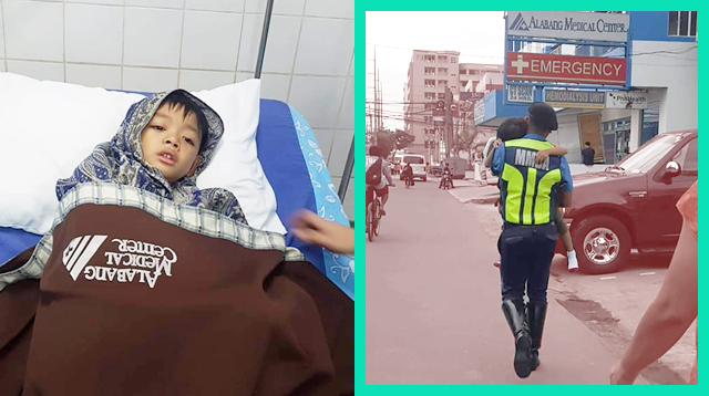 Mom Thanks MMDA Enforcer For Carrying Sick Son To The Hospital: 'Nawala Ang Worry Ko'