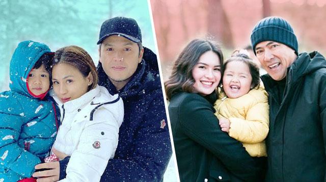 Celebrity Travel, Toddler Version! Hindi Maipinta Ang Saya Nila Na Kasama Ang Pamilya