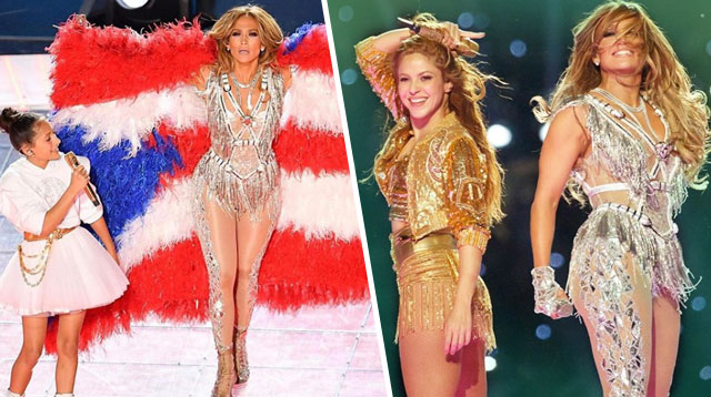 Jaw-Dropping Ang Sexy Performance Ni J. Lo, 50, At Shakira, 43, Sa Super Bowl