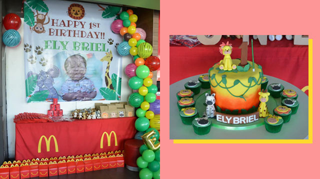 Pwede Ang Unique Party Themes Sa McDonald's Branch Na Ito