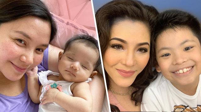 Regine At Mariel, Nagbahagi Kung Paano Sila Hands-On Moms