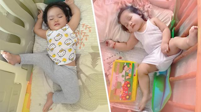 Pampagood Vibes! Nakakatuwang Sleeping Positions Ng Mga Kids