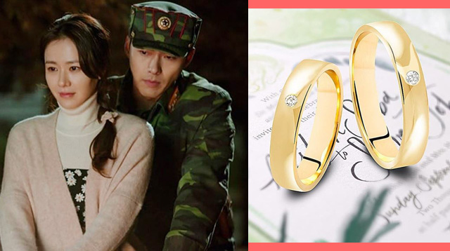 5 Wedding Bands Inspired By That Scene From 'Crash Landing On You'