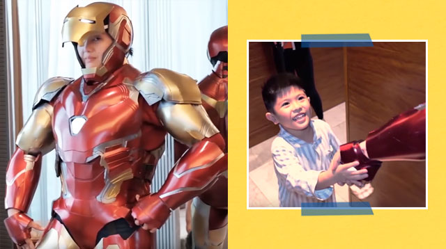 Dimples Romana Transforms From Daniela Mondragon To 'Iron Man' For Son's Birthday