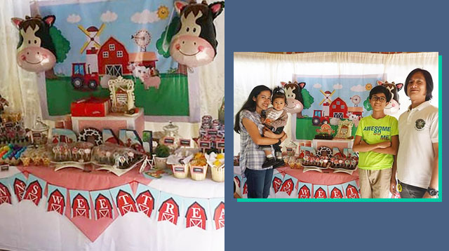 Barnyard Birthday Party Sa Bukid! May Palarong Pinoy + Leche Flan At Suman Ang Giveaway