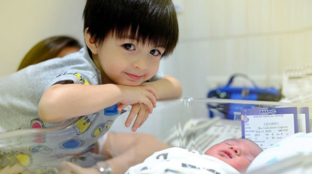 Jace Lizardo Is An Adoring Kuya To His New Baby Brother Jevi!