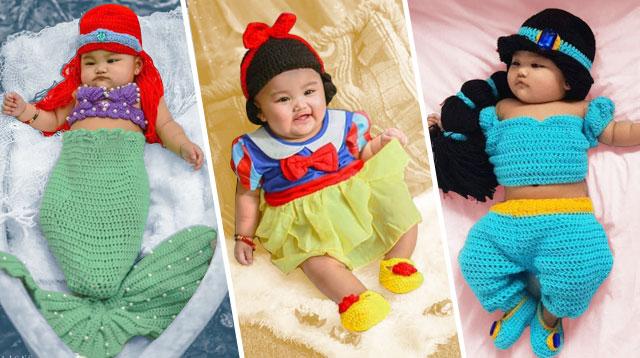 Addicted Si Mommy Sa Disney! Paano Gayahin Ang DIY Milestone Photoshoot Nila