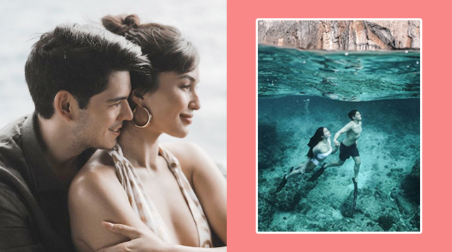 Sarah Lahbati And Richard Gutierrez Go Underwater For A Breathtaking Prenup Shoot