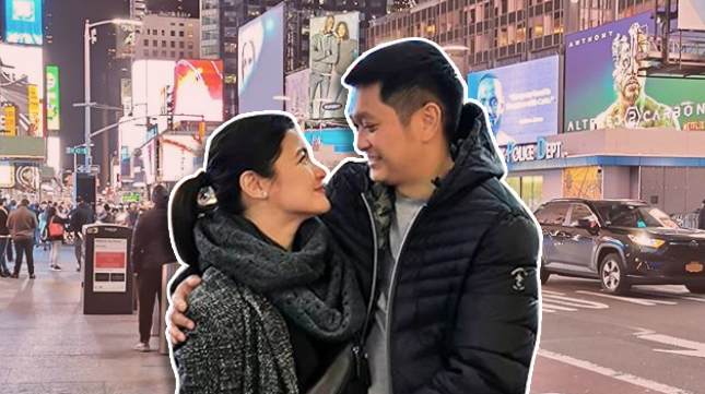 Camille Prats, VJ Yambao Go On A 'Just Us, No Kids' Trip To The US