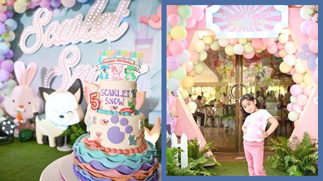 Narito Ang Listahan Ng Birthday Party Suppliers Ni Scarlet Snow