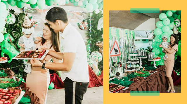 Jurassic-Inspired Ang First Birthday At Binyag Ni Baby! Saan Makakabili Ng Supplies?