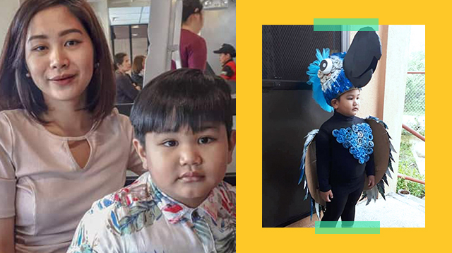 Pinay Stay-At-Home Mom Creates Costumes From Scratch For Her Son's School Activities