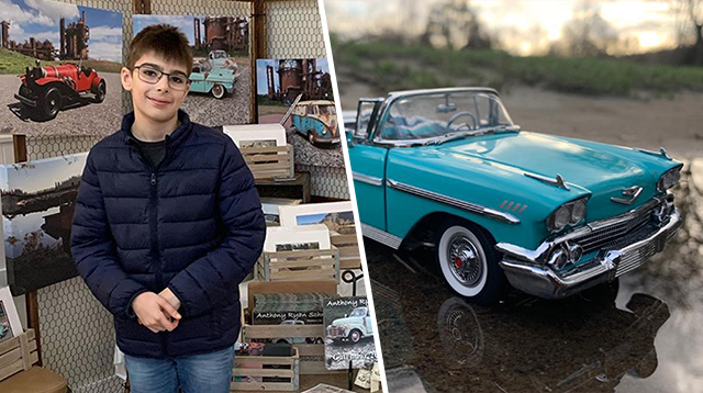This Talented 12-Year-Old Boy With Autism Photographs Toy Cars To Look Like The Real Thing!