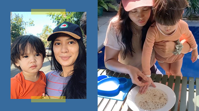 Isabelle Daza Shows Son How Handwashing Can Beat COVID-19 Via This Simple Experiment