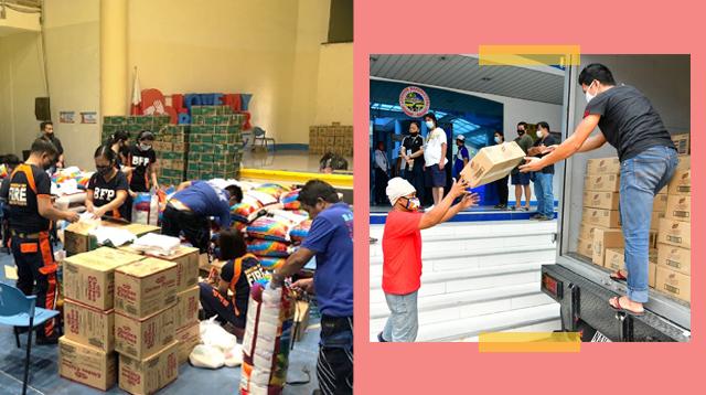 LGUs Distributing Food Packs, Other Essential Goods Amid Community Quarantine