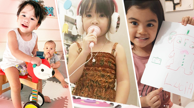Judy Ann, Iya, Saab, and More Celeb Moms Share What's Keeping Their Kids Busy At Home
