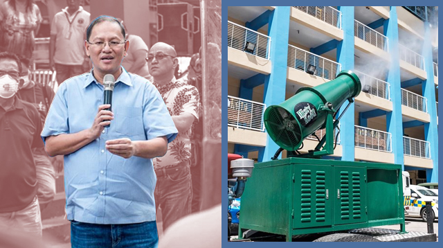 Sanitation Cannon, Bagong COVID-19 Testing Center, Proyekto Ng Marikina City Government
