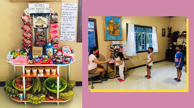 Pinay Stay-At-Home Mom Opens 'Home Quarantine Store' To Teach Her Kids Responsibility
