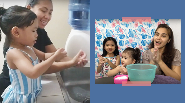 Masaya Maghugas Ng Kamay! Moms And Their Kids Show Us How It's Done