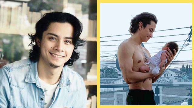 JC Santos's First Father-Daughter Photo Confirms He's A Girl Dad