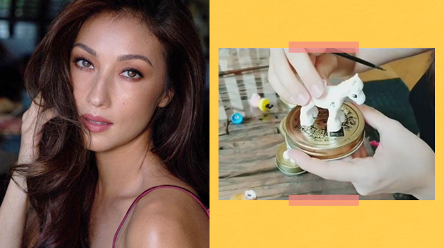 Solenn Heussaff Shares Fun DIY Arts And Crafts Activity You Can Do With Kids At Home