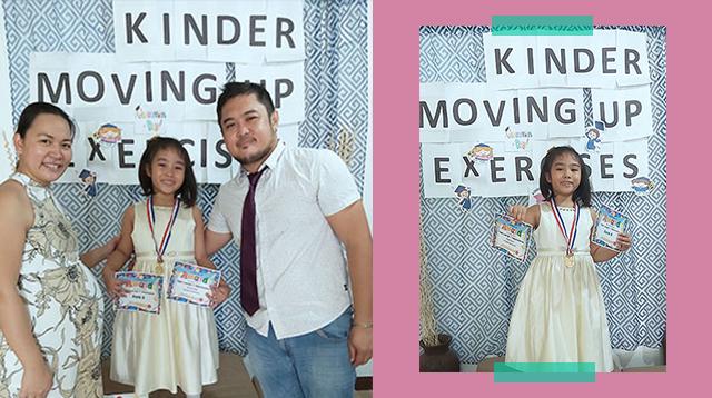 Silipin Ang Moving-Up Ceremonies Na Ginawa Ng Mga Magulang Sa Bahay