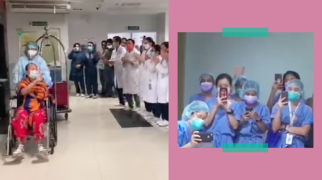 These Videos Of Health Workers Cheering Recovered Patients And Frontliners On Give Hope