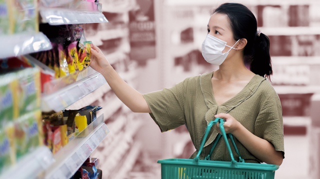 We Are Now Required To Wear Face Masks When We Step Out And Shop For Groceries