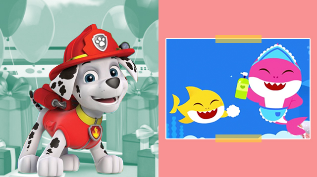 Baby Shark And Paw Patrol Hand Washing Videos Are Here (Hang In There, Parents)
