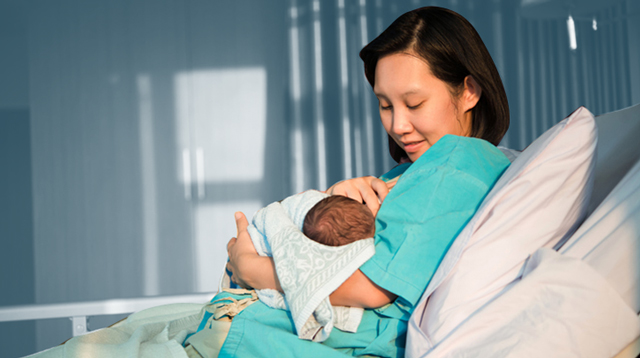 True Or False: A Breastfeeding Mom Who Has COVID-19 Cannot Nurse Her Baby