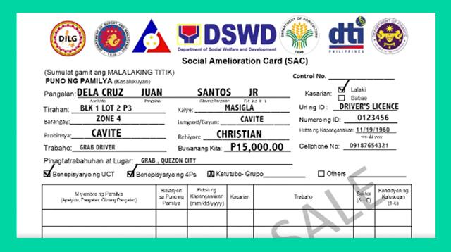 Social Amelioration Card: Paano Mag-Apply Ng Cash Aid Mula Sa Gobyerno