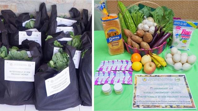 Kumpleto Sa Nutrition Ang Relief Pack Para Sa Mga Bata At Buntis Sa Mabalacat, Pampanga