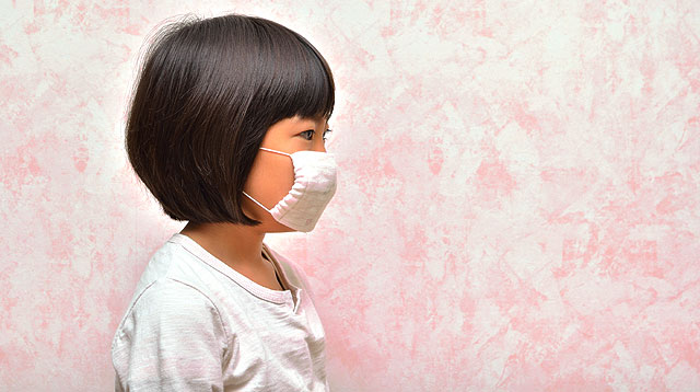 In the U.S., Kids Over Age 2 Are Required To Wear Face Masks When Going Out