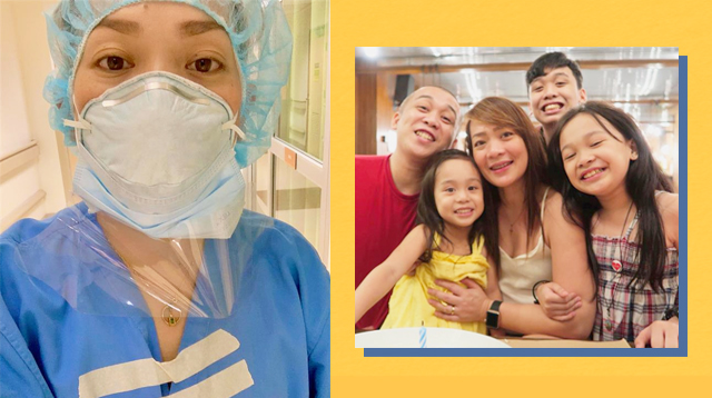 Nurse Who Hasn't Seen Kids Due To COVID-19 Says, 'Tao Lang, Hindi Immortal'