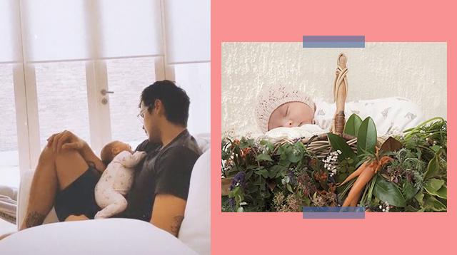 #GirlDad Erwan Heussaff Embraces New Role As Dahlia Amelie's Photographer