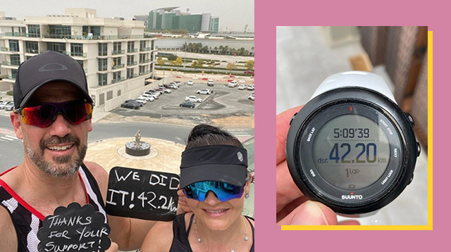 42-Kilometer Run Inside The House? It's Possible -- This Couple Did It In 5 Hours
