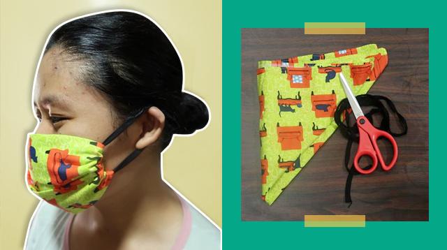 Paano Gumawa Ng No-Sew Face Mask