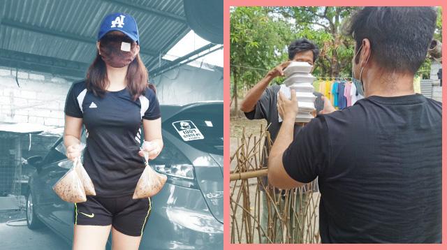Pamilya Sa Bulacan, Ipinambili Na Lang Ng Relief Goods Ang Perang Pang-Outing Sana