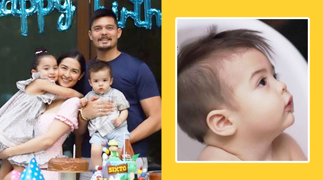 Marian, Dingdong Mark Ziggy's 1st Birthday With A DIY Celebration (And A Haircut!)