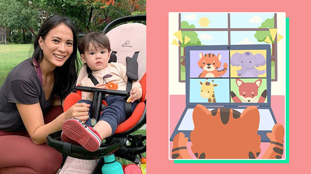 LOOK: Isabelle Daza Writes Animated Children's Story On COVID-19 For Son Baltie