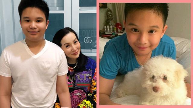 Anak Ni Kris Aquino Na Si Bimb, Teenager Na. 'Nobody Has Loved Me Like My Bunso Does'