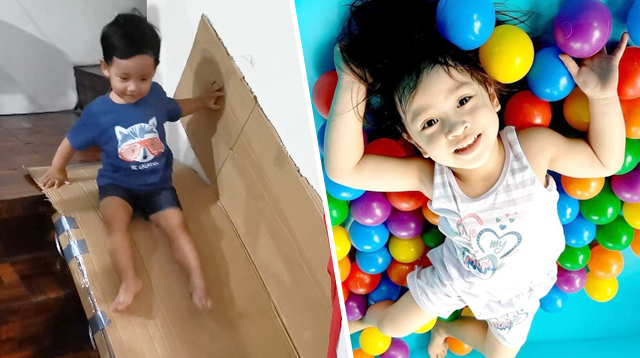 'Anak, House-Zoona Lang Muna Tayo': Look How These Moms Created An Indoor Playground