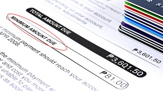 Bakit Malaki Pa Din Ang Credit Card Bill Mo Kahit Nagbabayad Ka Ng Minimum Amount Due