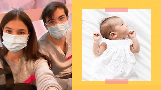 Erwan Heussaff And Anne Curtis Take Precautions For Amelie's Checkup