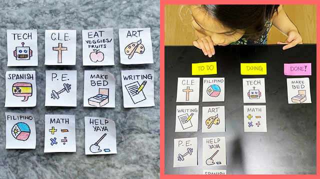 Mom And Dad Use This Genius Idea To Keep Their Daughter Busy When They Work From Home
