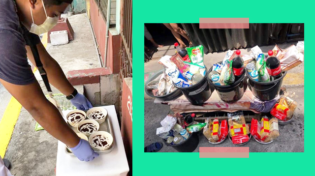 Daily Merienda, Weekly 'Christmas' Basket Mula Barangay, Puring-Puri Ng Mga Taga-Sta. Cruz