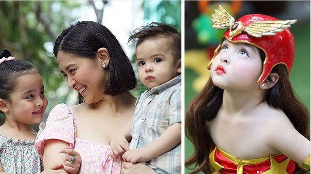 Adorable! Zia Dantes Recreates Marian Rivera's Darna Costume For Mother's Day